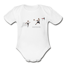 Load image into Gallery viewer, Amari Organic Short Sleeve Baby Bodysuit - Obsidian's LLC