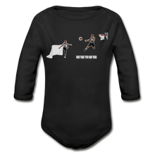 Load image into Gallery viewer, Amari Organic Long Sleeve Baby Bodysuit - Obsidian's LLC