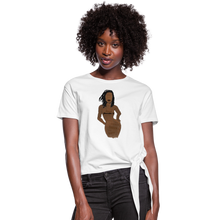 Load image into Gallery viewer, Proverbs 31 Loc Lady Knotted T-Shirt - Obsidian's LLC