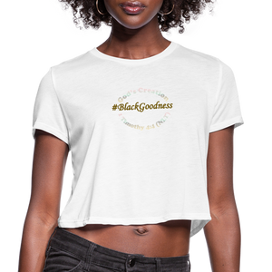 Black Goodness Cropped T-Shirt - Obsidian's LLC
