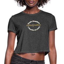 Load image into Gallery viewer, Black Goodness Cropped T-Shirt - Obsidian's LLC