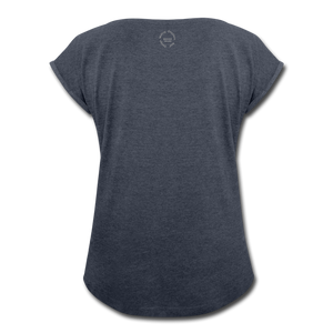 Black Goodness Roll Cuff T-Shirt - Obsidian's LLC
