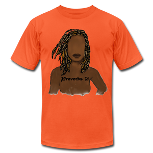 Proverbs 31 Locs Jersey T-Shirt by Bella + Canvas - Obsidian's LLC