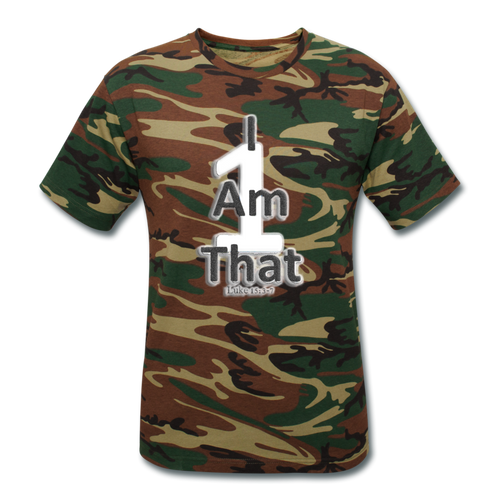 That One Unisex Camouflage T-Shirt - Obsidian's LLC