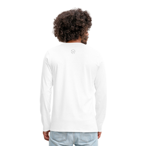 NO FEAR Men's Premium Long Sleeve T-Shirt - white