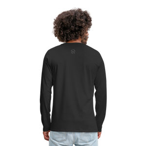 NO FEAR Men's Premium Long Sleeve T-Shirt - black