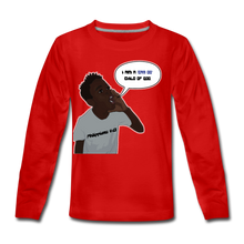 Load image into Gallery viewer, Kingston Kids' Premium Long Sleeve T-Shirt - Obsidian's LLC