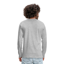 Load image into Gallery viewer, Amari Men's Premium Long Sleeve T-Shirt - heather gray