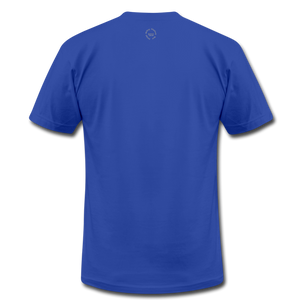 That One Unisex Jersey T-Shirt by Bella + Canvas - royal blue
