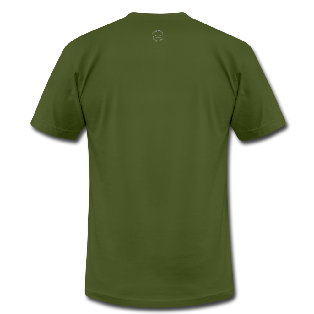 That One Unisex Jersey T-Shirt by Bella + Canvas - olive