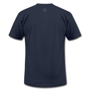 That One Unisex Jersey T-Shirt by Bella + Canvas - navy