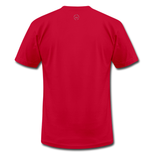That One Unisex Jersey T-Shirt by Bella + Canvas - red