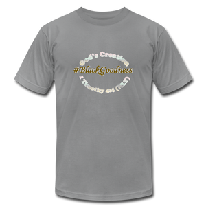 Black Goodness Unisex Jersey T-Shirt by Bella + Canvas - Obsidian's LLC