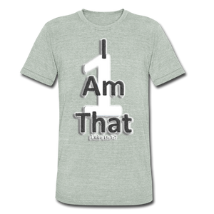 That One Unisex Tri-Blend T-Shirt - heather gray