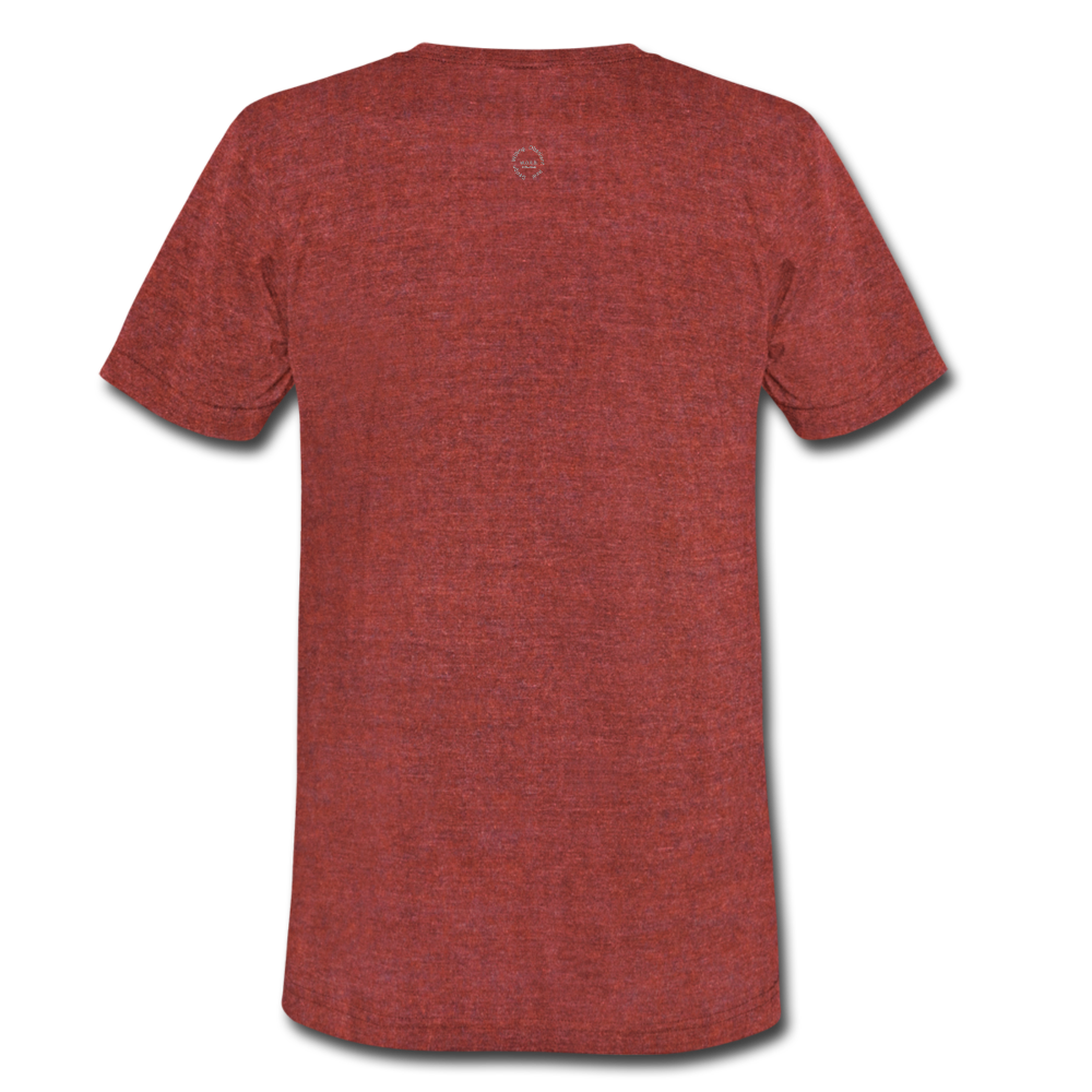That One Unisex Tri-Blend T-Shirt - heather cranberry