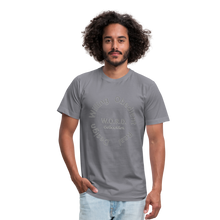 Load image into Gallery viewer, W.O.R.D. Unisex Jersey T-Shirt by Bella + Canvas - slate