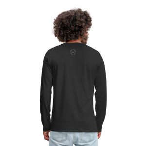Kingston Men's Premium Long Sleeve T-Shirt - black