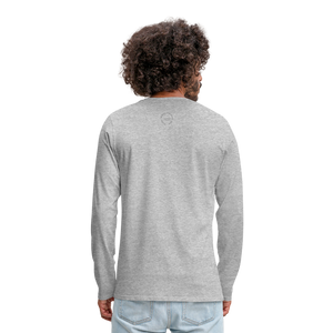 Kingston Men's Premium Long Sleeve T-Shirt - heather gray