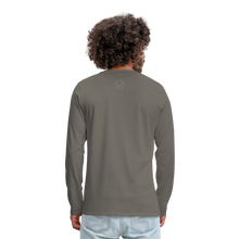 Load image into Gallery viewer, Kingston Men's Premium Long Sleeve T-Shirt - asphalt gray