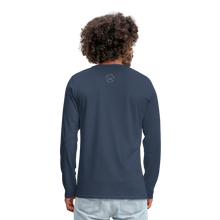 Load image into Gallery viewer, Kingston Men's Premium Long Sleeve T-Shirt - navy