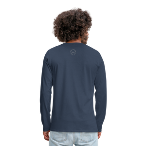 Kingston Men's Premium Long Sleeve T-Shirt - navy