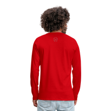 Load image into Gallery viewer, Kingston Men's Premium Long Sleeve T-Shirt - red