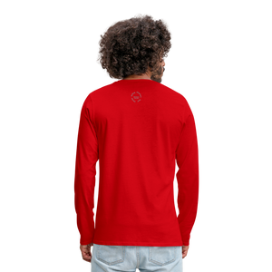 Kingston Men's Premium Long Sleeve T-Shirt - red
