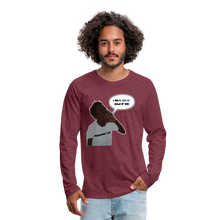 Load image into Gallery viewer, Kingston Men's Premium Long Sleeve T-Shirt - heather burgundy