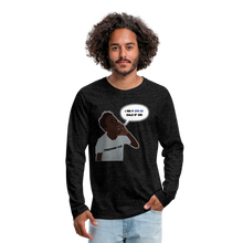Load image into Gallery viewer, Kingston Men's Premium Long Sleeve T-Shirt - charcoal gray