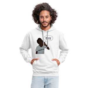 Kingston Unisex Hoodie - white/gray