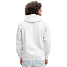Load image into Gallery viewer, Kingston Unisex Hoodie - white/gray