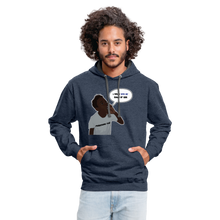 Load image into Gallery viewer, Kingston Unisex Hoodie - indigo heather/asphalt