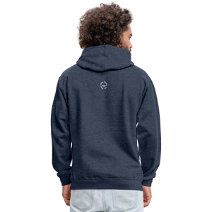Kingston Unisex Hoodie - indigo heather/asphalt