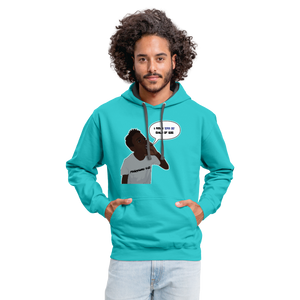 Kingston Unisex Hoodie - scuba blue/asphalt