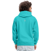 Load image into Gallery viewer, Kingston Unisex Hoodie - scuba blue/asphalt