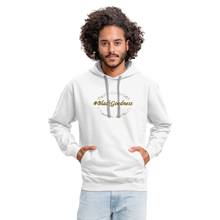 Load image into Gallery viewer, Black Goodness Unisex Hoodie - white/gray