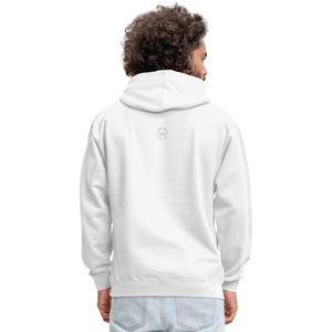 Black Goodness Unisex Hoodie - white/gray