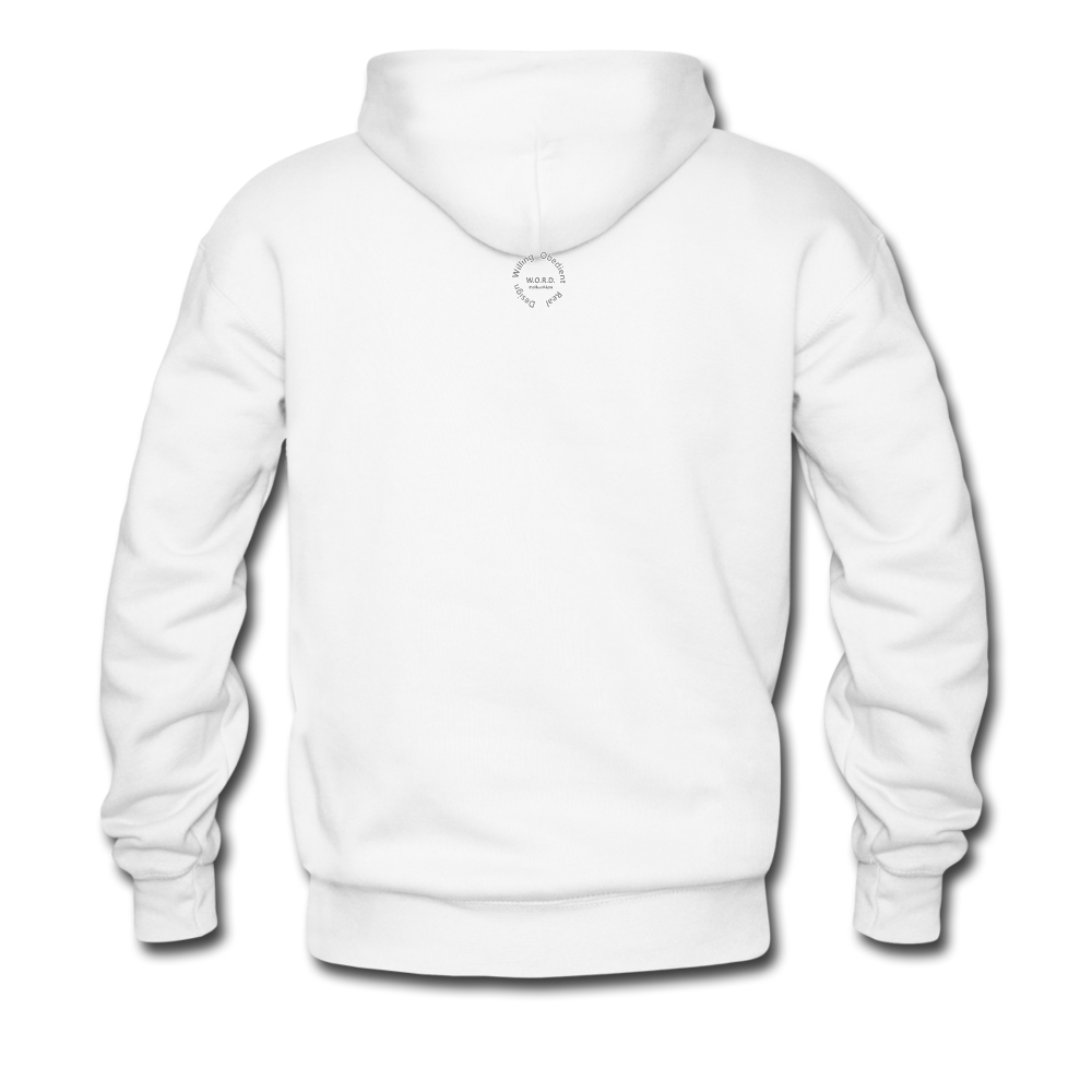Kingston Men's Premium Hoodie - white
