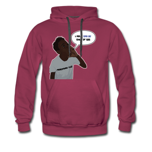 Kingston Men's Premium Hoodie - burgundy
