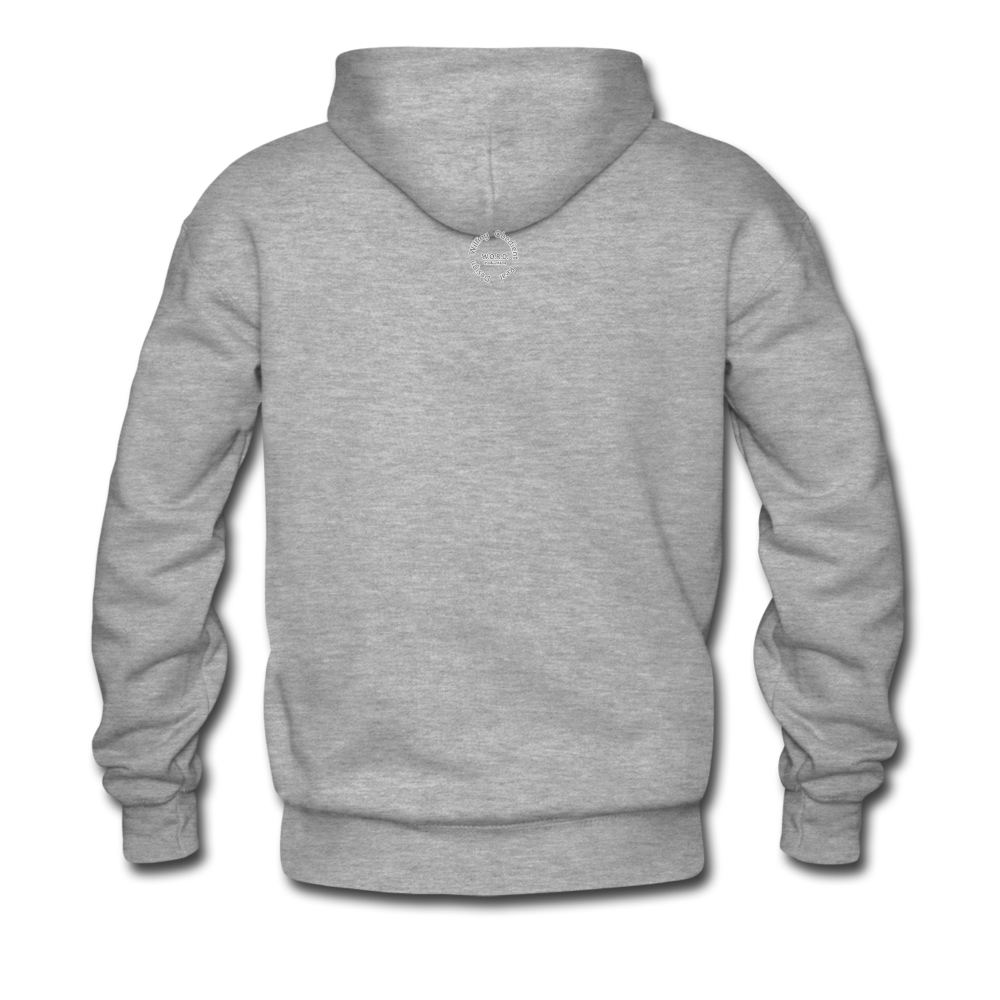Kingston Men's Premium Hoodie - heather gray
