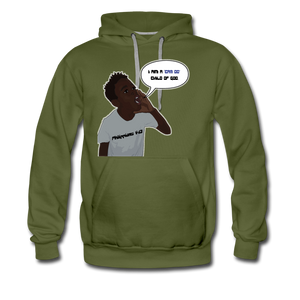 Kingston Men's Premium Hoodie - olive green