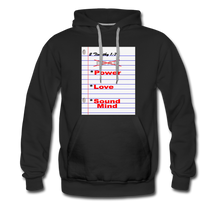 Load image into Gallery viewer, NO FEAR Men's Premium Hoodie - black