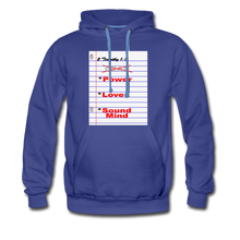 Load image into Gallery viewer, NO FEAR Men's Premium Hoodie - royalblue