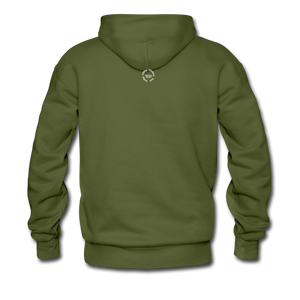 NO FEAR Men's Premium Hoodie - olive green