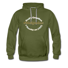 Load image into Gallery viewer, Black Goodness Men's Premium Hoodie - olive green