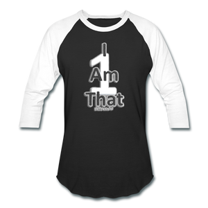 That One Unisex Baseball T-Shirt - black/white