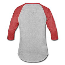 Load image into Gallery viewer, That One Unisex Baseball T-Shirt - heather gray/red