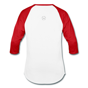 That One Unisex Baseball T-Shirt - white/red