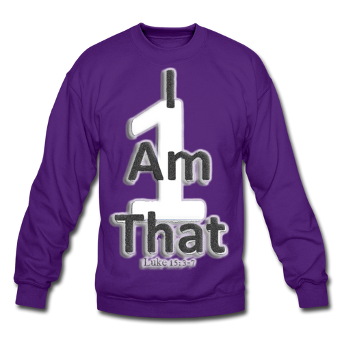 That One Unisex Crewneck Sweatshirt - purple