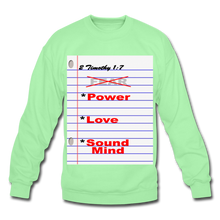 Load image into Gallery viewer, NO FEAR Unisex Crewneck Sweatshirt - lime